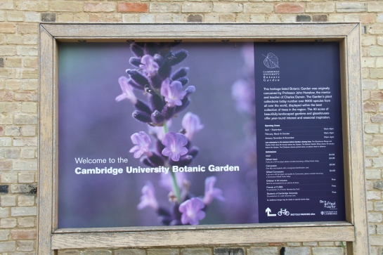 Cambridge University Botanic Garden, 2