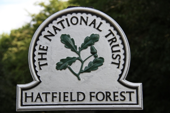 Hatfield forest sign, 02